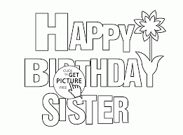 Coloring Pages Funny Happy Birthday Coloring Pages Free For Kids