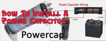 audio capacitor wiring diagram davehaynes me Car Speaker Wiring Diagram how to install a power capacitor radiodashkits car stereo