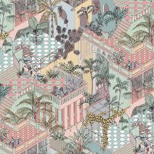 Design Behang Cole Son Miami Roomrevolution