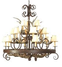 antlers lighting chandelier antler wrought iron chandelier light antler chandelier lamp shades
