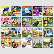 Sách - vòng quanh thế giới - bộ 25 quyển - Sắp xếp theo liên quan sản phẩm