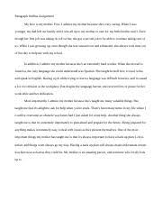 gerald stallings exemplification essay gun control gerald  1 pages paragraph outline assignment