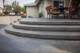 stamped concrete patio with stairs. Perfect Patio Stamped Concrete Steps Transitionalpatio With Patio Stairs C