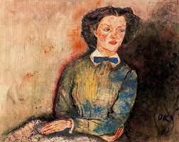 Bessie Bruce by Oskar Kokoschka | | Most-Famous-Paintings.com