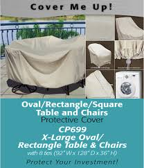 patio furniture covers xl oval rectangle table cover