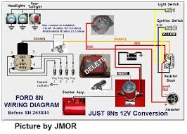 ford n wiring diagram wiring diagrams and schematics wiring diagram for 12 volt conv on ford 9 n 9n 2n 8n