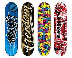 Skateboards Designs Skatedeck Design Lessons Tes Teach