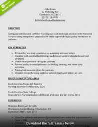 10 Nursing Assistant Cover Letter Beautify Your Word Document