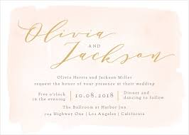 card invitation wedding invitations match your color style free