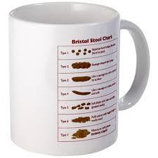 Bristol Stool Chart Mug Soul Food Bristol Stool Bristol
