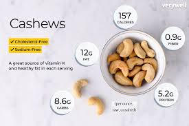 Cashew Nut Size Chart Cashew Nutrition Facts Calories Carbs And Health Benefits