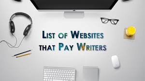 list of best websites that pay writers now get paid to write 65 sites pay instantly to content writers get paid instantly for writing