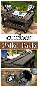 Outdoor Table Ideas Pinterest