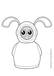 Fijit Friends Logan Coloring Page For