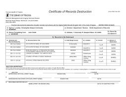 Sample Certificate Of Destruction Beautiful Fresh Hard Drive