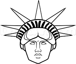 Statue Of Liberty Drawing | Free Download Clip Art | Free Clip Art ...