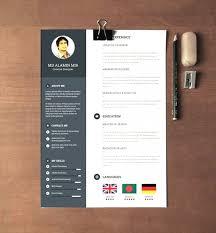 Modern Resume Template Word Cute Resume Maker Free Resume Paper
