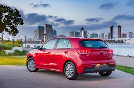 kia rio 5 2018. unique kia 2018 kia rio 5door red rear and kia rio 5