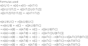 Venn Diagram Math Formula Sir Madam Can You Please By Using Equations Step By Step