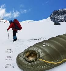 <b>Naturehike Winter</b> Camping <b>Sleeping</b> Bag <b>Ultralight</b> Mummy Duck ...