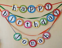 custom happy birthday banner custom happy birthday banner with name yo gabba gabba birthday