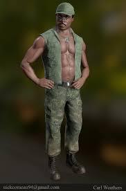Carl Weathers Predator WIP — polycount