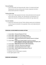 personal skills put resume personal skills for resume resume badak