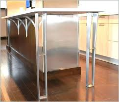 countertop legs support posts plus support posts amazing metal legs net to create remarkable kitchen support countertop legs