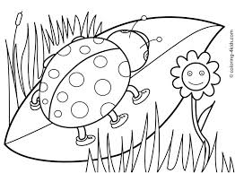 Free Preschool Coloring Pages Spring Spring Coloring Pages Free
