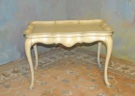 a009 vintage french provincial coffee table