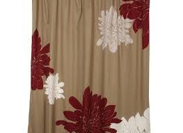 Brown And Tan Curtains Tan Shower Curtain Animal Print Shower Greenite