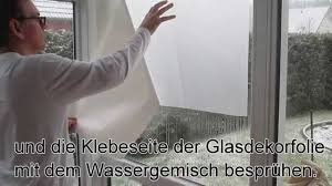 Fensterfolie Anbringen Trick Youtube