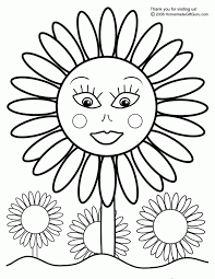 Small Picture Printable Sunflower Coloring Page Clip Arts Related To Mandala