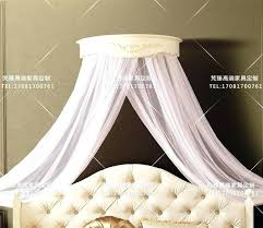 Bed Crown Baby Crib Canopy Wood Wall Curtains – donarturo.co