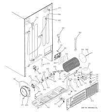 Ge refrigerator r series parts model pss26lsrbss sears partsdirect ge monogram refrigerator water line parts diagram 3 at ge profile dishwasher schematic