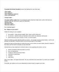 Complaint Format Letter format examples complaint cover example cooperative snapshot 87