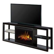 contemporary fireplace tv stand. Freestanding Electric Fireplace TV Stand Media Console In Black Intended Contemporary Tv