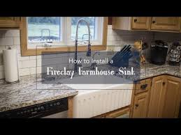 fireclay farmhouse sink. How To Install A Fireclay Farmhouse Sink