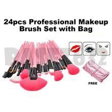 24pcs 24 professional makeup make up cosmetic brush set kit tools