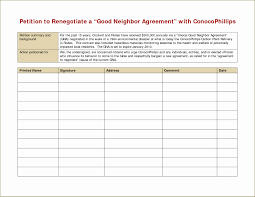 Petition Form Template Lovely 6 Petition Format