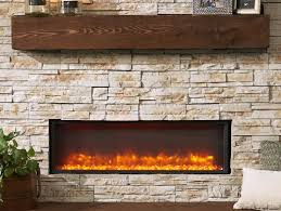 architecture linear electric fireplace insert contemporary inserts modern flames landscape series intended for 0 from