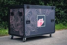 Building up a flight case: Nsp Cases Custom Coffee Machine Flight Case For Facebook