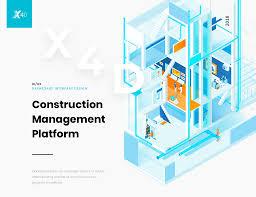 Construction Management X4d Construction Management Platform On Behance
