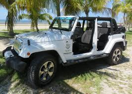 good white door wrangler with white jeep rubicon 4 door