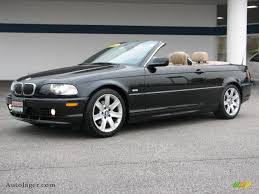2003 BMW 3 Series 325i Convertible in Black Sapphire Metallic ...