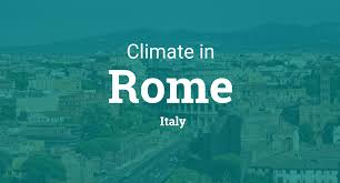 Climate Weather Averages In Rome Italy