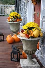 Outdoor Decorating For Fall Outdoor Fall Decor Stonegable