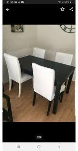 Ikea Bjursta Esstisch Mit Stühlen In 09350 Lichtensteinsachsen Für