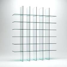 glass shelf bookcase glass bookcase glass shelves 5 shelf bookcase with glass doors