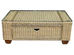 wicker coffee table storage full size of rectangle round ottoman large with baskets
